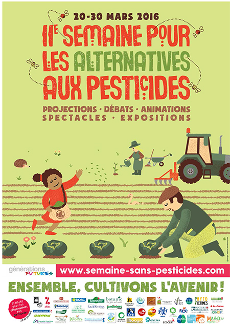 Un début de printemps sous le signe des alternatives aux pesticides