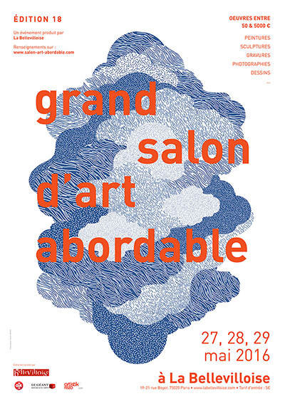 LA BELLEVILLOISE présente la 18EME édition du GRAND SALON D'ART ABORDABLE